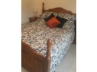 Bed and matress
