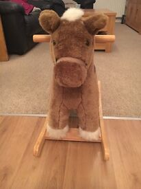 Mama and Papas rocking horse in perfect condition as barely used (normally sells for £60+)