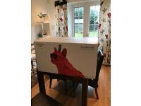 Aerobull HD Glossy Red Dog Speaker by Jarre Technologies. BRAND NEW in original