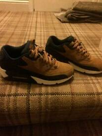 Nike air max 90s ale brown new size 7