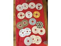 2 spindles cd read. read write plus car manuals and obd diagnostic disks