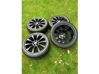 "Genuine 20"" Range Rover Vogue VW Transporter T6 T5 T32 Alloy Wheels Tyres"