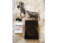 Focal iBus20 underseat base box subwoofer car plug and play
