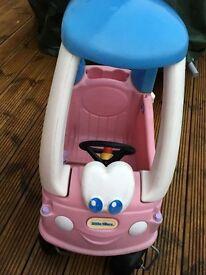 Little Tickes Pink car