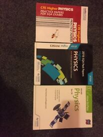 Leckie Leckie and Hodder Gibson Higher Physics Books