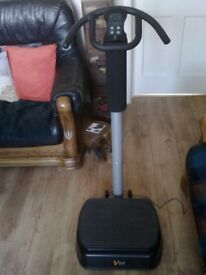 V FIT VIBRATION MACHINE (AS NEW) FOR SALE. COULD DELIVER.