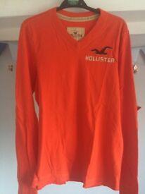 Hollister sweatshirt.