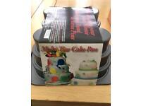 Multi tier cake pan