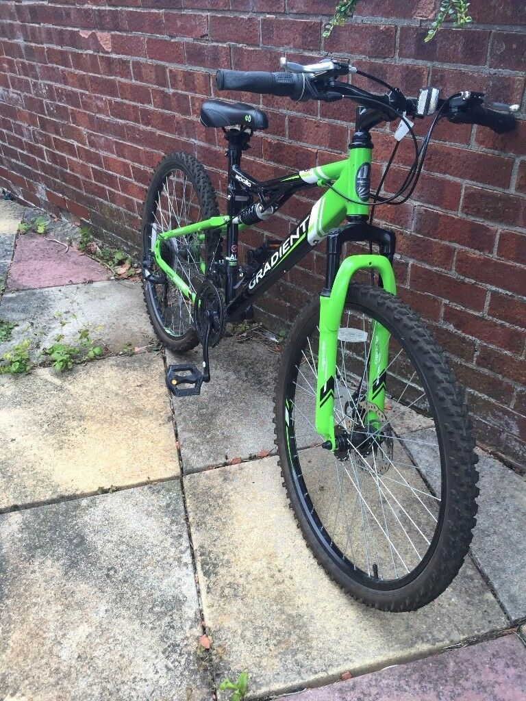 Apollo Gradient Green boy's bike - suit 11 -14 year old | in Leicester,  Leicestershire | Gumtree