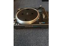 Stanton T62 Direct drive turntable FAULTY