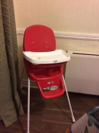Kiddicare baby high chair
