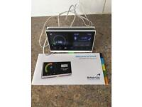 British gas smart meter monitor with instruction booklet
