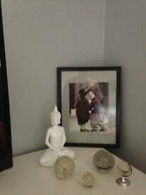 Buddah paperweight's and picture
