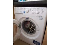 Half drum washing machine suitable for flat/small kitchen £75 ono only yr old
