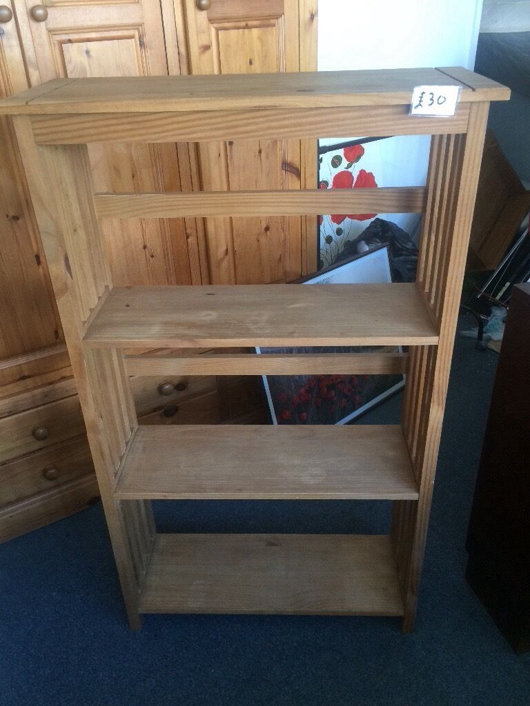 Bookcases free local din Plymouth, DevonGumtree - Pine bookcase 53 inches tall £30 G plan bookcase 3 foot tall £30 Embankment Rd area