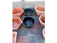 Garden planters some new some used excellent condition all washed ready to use