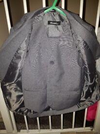 Size 3 grey suit (jacket trousers waist coat)