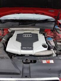 Audi a5 3.0 tdi sline quattro 240bhp stantard