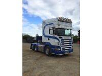 Scania R580 Rear lift