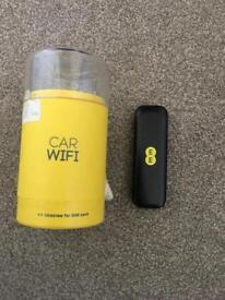 Car WiFi on EE