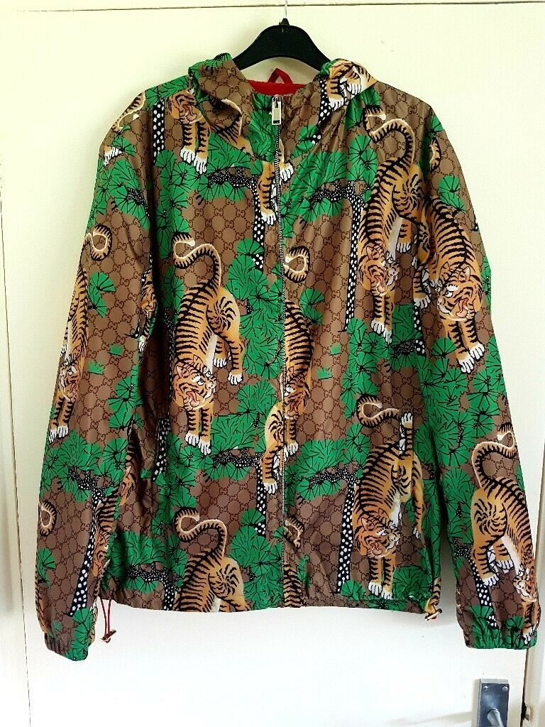 827eb848b gucci bengal tiger print jacket | in Cardiff Bay, Cardiff | Gumtree