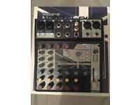 soundcraft notepad 8fx MIXING DESK