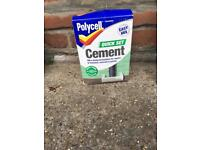 Polycell - Quick set cement - unused
