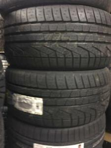 FOUR NEW 18 INCH PIRELLI W210 SOTTOZERO TIRES -- CLEARANCE