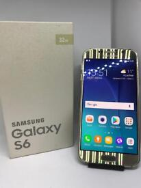 Samsung S6 Gold Unlocked Boxed