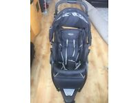 Graco trekko duo tandem pushchair sport Black Push chair - good condition