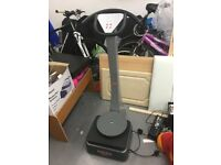 POWER MAXX VIBRATIONS PLATE EXERCISE MACHINE TRAINER INTENSE WORKOUT MIN EFFORT FREE DLVRY TURNTABLE