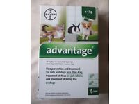 Advantage Flea Prevention Cats, Dogs, Rabbits under 4Kg