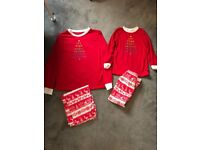 Adult and child pair of Christmas pyjamas-Brand New