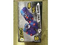 Zinc one size Street gliders 5 years plus