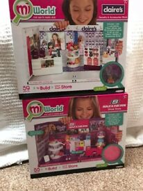 Mi World Shop Sets x 2 Claires Accessories and Skechers