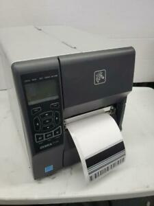 Zebra ZT230 Direct Thermal Monochrome Printer 203dpi USB Serial
