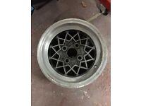 6 X Alley cat alloy wheels escort mk1 mk2 4 X 108