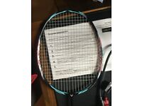 Victor Jetspeed 10 badminton racket 4UG5, very new