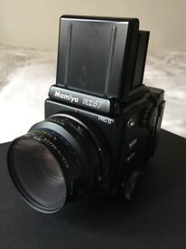 Mamiya RZ67 Pro II KIT in Excellent Condition - includes camera body, 110mm lens + film back