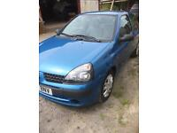 01 Renault Clio for sale