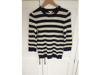 Gap Nautical Striped Jumper Top -Small