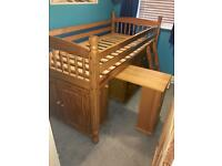 Julian Bowen Solid Wood Cabin Bed Sleepstation