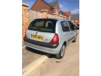 2003 Renault Clio 1.2 Petrol 9 Months Mot Low Miles All Papers New Tyres Great Condition Car