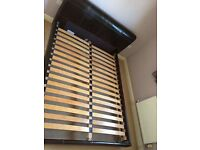 King Size Furniture Village Leather Bed