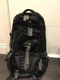Aoking Black Hiking/Traveling Backpack like new