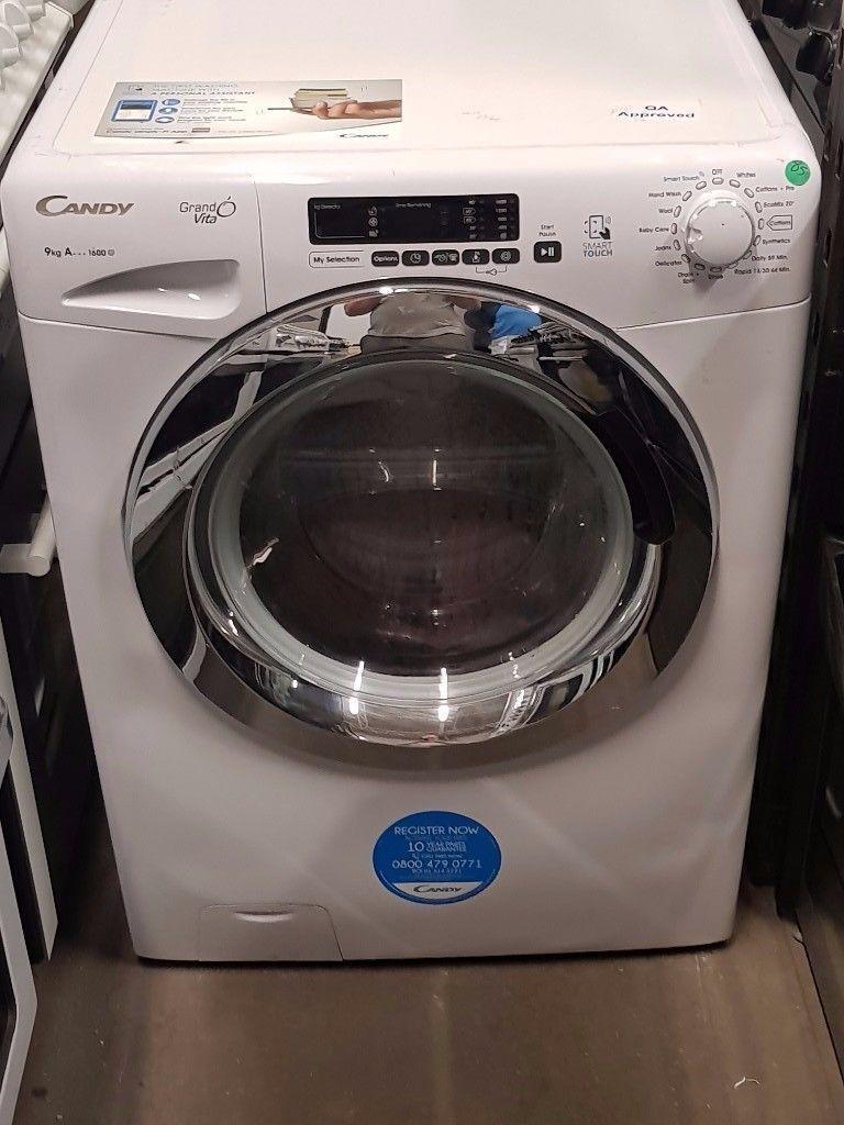 Candy Washing Machine *Ex-Display* (9kg) (6 Month Warranty)