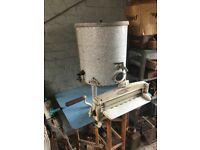 Vintage Acme Washing Tub Boiler / Garden Or Shop Decor Kitchenalia- delivery available