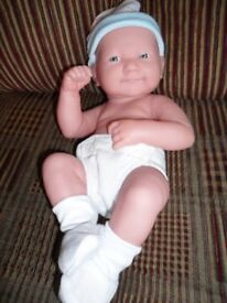 berenger life like baby boy doll la new born