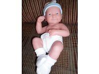 berenger life like baby boy doll la new born