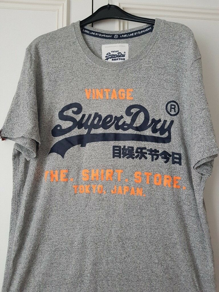 bc0cdad0 Mens Superdry T-shirt size XXL New with tag   in Caerphilly   Gumtree